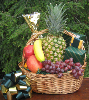 Fruit and Cheese Gift