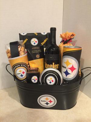 Pittsburgh Steelers - NFL Gift Basket